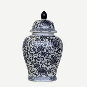 Potiches ovale ceramica