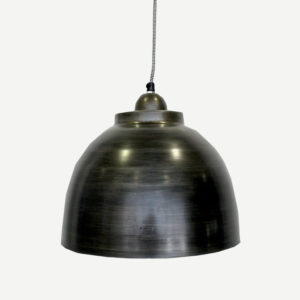lampadario ferro nero