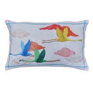 Cuscino lino Flamingo 40*60