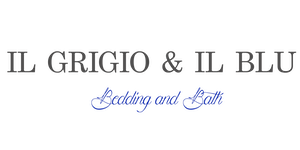 Il Grigio & il Blu | Bedding and Bath